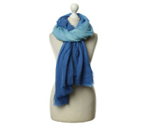 Second Hand Schal in Blautönen