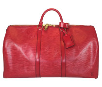 "Second Hand  ""Keepall 50 Epi Leder"" in Rot"