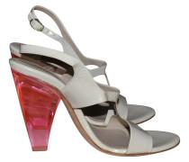 Second Hand  Sandaletten aus Leder