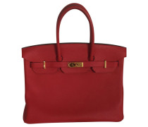 "Second Hand ""Birkin Bag 35"" in Rot"