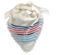 Second Hand Schal/Tuch aus Kaschmir in Weiß