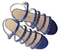 Second Hand Sandalen in Blau