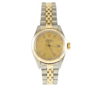 """Second Hand  """"Date Lady Steel/Gold Automatic"""""""