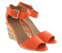 Second Hand  Wedges in Orange