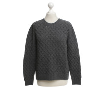Second Hand  Pullover in Grau