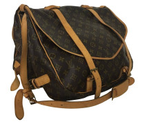 "Second Hand ""Saumur"" Reisetasche aus Monogram Canvas"