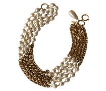 Second Hand Üppige 5-Reihen Kette – Baroque Perlen