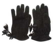 Second Hand  Lederhandschuhe in Schwarz