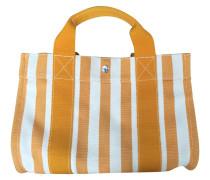 Second Hand Cannes-gestreifter Baumwolle PM-Handtasche