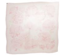 Second Hand Schal/Tuch aus Seide in Rosa / Pink