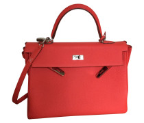 "Second Hand  ""Kelly Bag 35"" aus Togoleder in capucine"