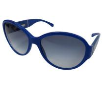 Second Hand Blaue Sonnenbrille