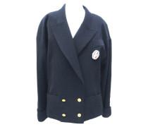 Second Hand Anzug aus Wolle in Blau