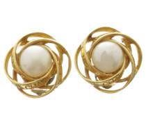 Second Hand Ohrclips im Perlen-Look