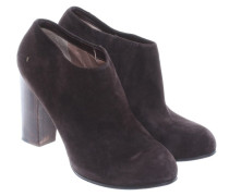 Second Hand  Ankle Boots in Braun