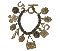 Second Hand Chanel Armband mit Charms