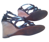 Second Hand Schwarze Sandalen