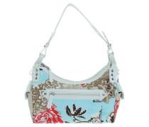 Second Hand Handtasche mit Blumenprint