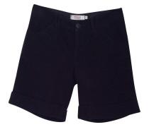 Second Hand  Shorts aus schwarzem Samt