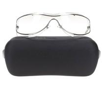Second Hand Sonnenbrille in Silbern
