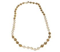 Second Hand Kette - Knoten & Baroque Perlen