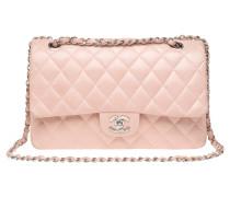 Second Hand Classic Flap Bag aus Leder in Rosa / Pink
