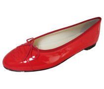 Second Hand Ballerinas in Rot