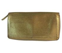 Second Hand Brieftasche gold