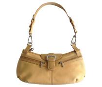 Second Hand Beige Handtasche