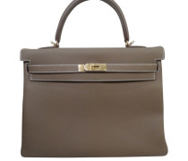 """Second Hand """"Kelly Bag 32 Etoupe"""""""