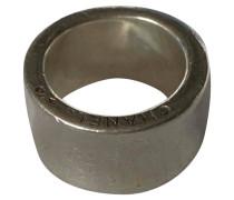 Second Hand Ring aus Silber in Silbern