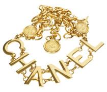 Second Hand Gürtel in Gold