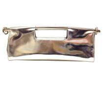 Second Hand Clutch im Metallic-Look