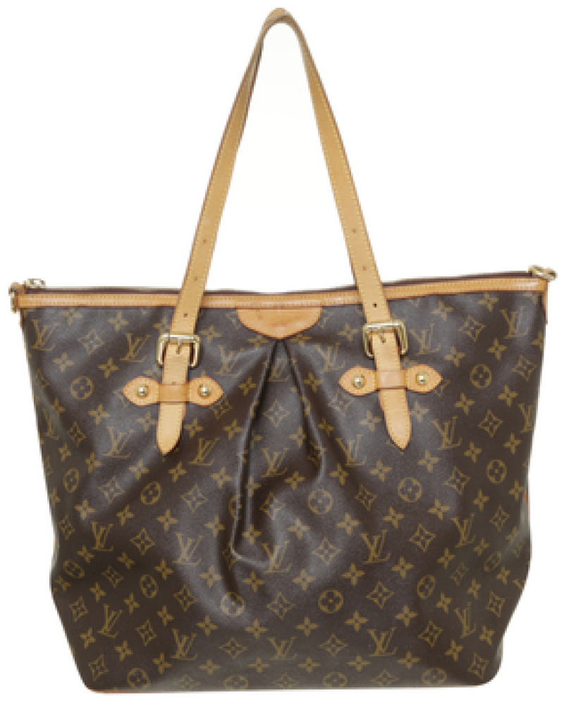 louis vuitton damen second hand shopper monogram canvas. Black Bedroom Furniture Sets. Home Design Ideas
