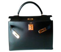 "Second Hand  ""Kelly Bag 32 Box Calf Leder"""