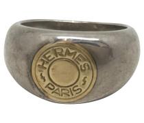 Second Hand  Ring in Silber und Gold