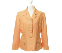 Second Hand Leinenblazer in Orange