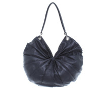 "Second Hand  ""Lamella Bag Midi"" in Schwarz"