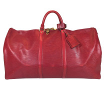 "Second Hand  ""Keepall 55 Epi Leder"" in Rot"