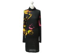 Second Hand Stretch-Kleid mit Print