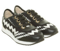 Second Hand  Sneaker mit Zick-Zack-Muster