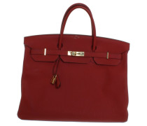 "Second Hand  ""Birkin Bag 40"" in Rot"
