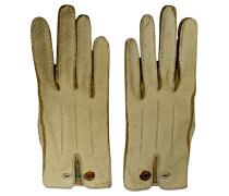 Second Hand Beigefarbene Handschuhe