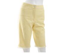 Second Hand Shorts mit CC-Lochstickerei