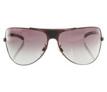 Second Hand Sonnenbrille mit Schlangenmuster