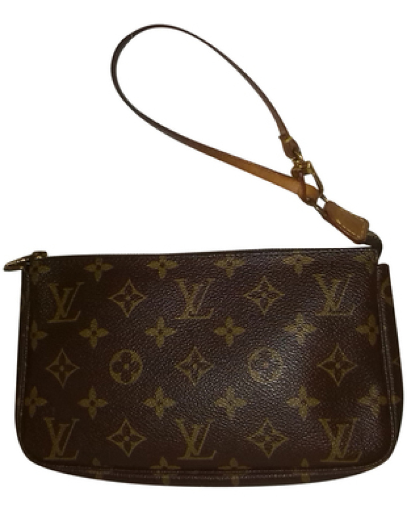 louis vuitton damen second hand pochette in monogram. Black Bedroom Furniture Sets. Home Design Ideas