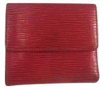 Second Hand Portemonnaie aus rotem Epileder