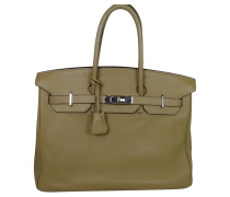 Second Hand Birkin Bag 35 Poussiere Clemence