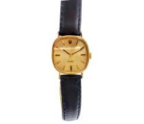 """Second Hand  Uhr """"Orchhid"""" aus 18K Gelbgold"""
