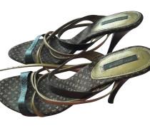 Second Hand  Sandalen aus Reptilleder